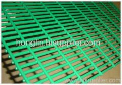Pvc coated welded netting