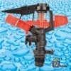 Part-Circle Plastic Impact Sprinkler