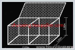 welded wire mesh gabion box