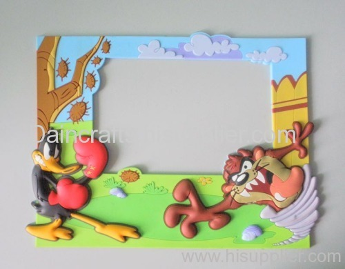soft PVC donald duck photo frame DN-PF005 manufacturer from China ...