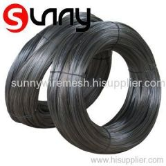 BLACK IRON WIRE WITH SMALL COIL