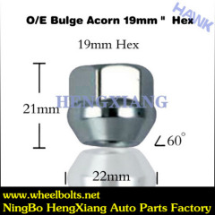 Wheel short nuts