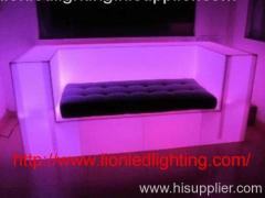 led light sofa for party and club/pub illuminated furniture