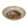 Biodegradabel Flowered Dinner Plate