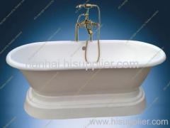 Pedestal Roll Top Bath