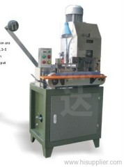 Terminals wire crimping machine