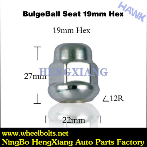Wheel chrome lock nutS
