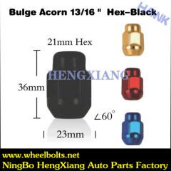 Black Wheel Lug Nut
