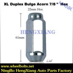 close wheel lock nuts