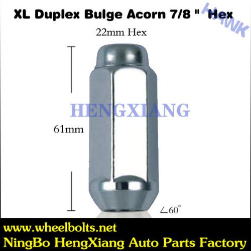 close wheel lock nuts