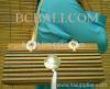 women fashion bamboo handbag