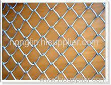 galvanized wire and pvc coated chain link fences