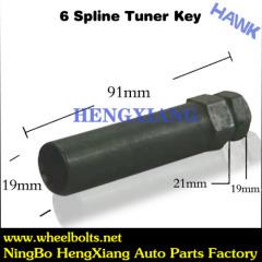6 Spline Tuner Key