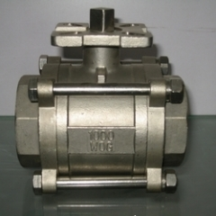 3 PC Stainless Steel Ball Valve