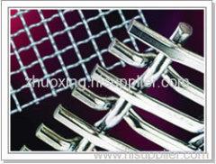 G I crimped wire mesh