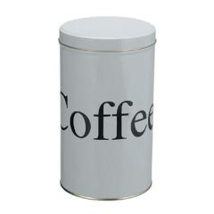 Airtight Round Coffee Tin