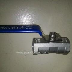304 1PC ball valve