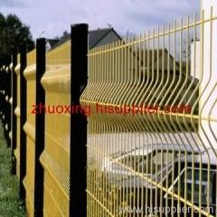 curvy fence netting