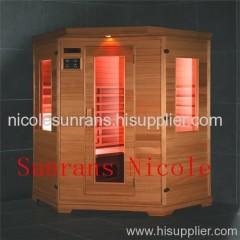 big sauna room