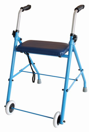 rollator with wheels