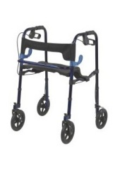 Lite Walker with Seat and Loop Locks