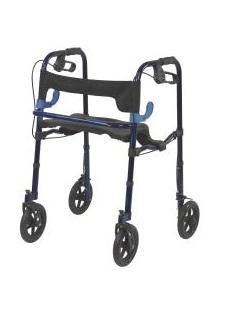 Lite Walker with Seat and Loop Locks