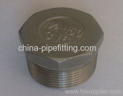 stainless steel AISI 304 hex.plugs