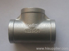 stainless steel AISI304 TEES