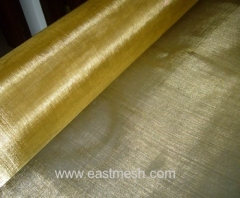 woven brass wire mesh