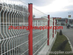 Curvy Welded Fence Meshes