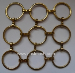 Pale Gold Ring Mesh