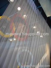 Stainless steel curtain / divider
