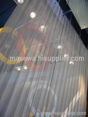 Bobina cortina / acabamento em aço inoxidável