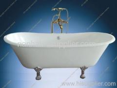 clawfeet cast iron bath