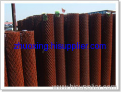 expanded metal mesh fence netting