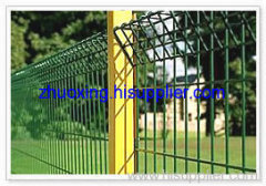 double loop wire fence