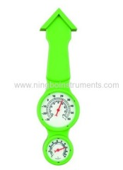 New design garden thermometer & hygrometer