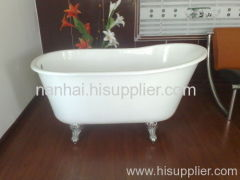 Roll Top enamelled Tubs