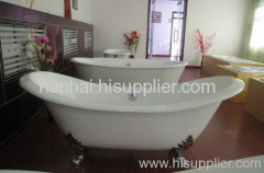 Double Slipper Cast IronTub