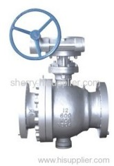 Carbon Steel full port ball valve, Flanged ends