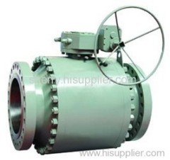 Forged Steel full port ball valve, Flanged ends