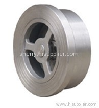 Cast Steel Wafer Type Lift Check Valve