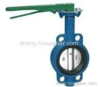 Wafer Type Soft Seal Butterfly Valve