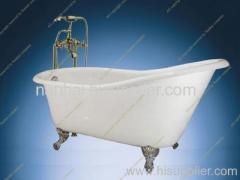 60-inch Cast Iron Slipper Tub