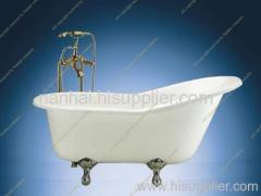62 inch Cast Iron Slipper Bath Tub