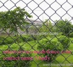 High quality galvanized chain link fencings