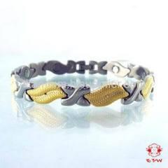 Stainless Steel Power Bands Bracelet,Magnetic Bracelet