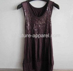Ladies knit tank