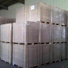 350gsm one side coated duplex board white back factory
