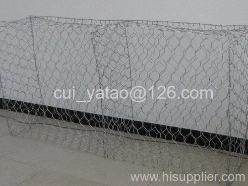 galvanized & PVC coated gabion box